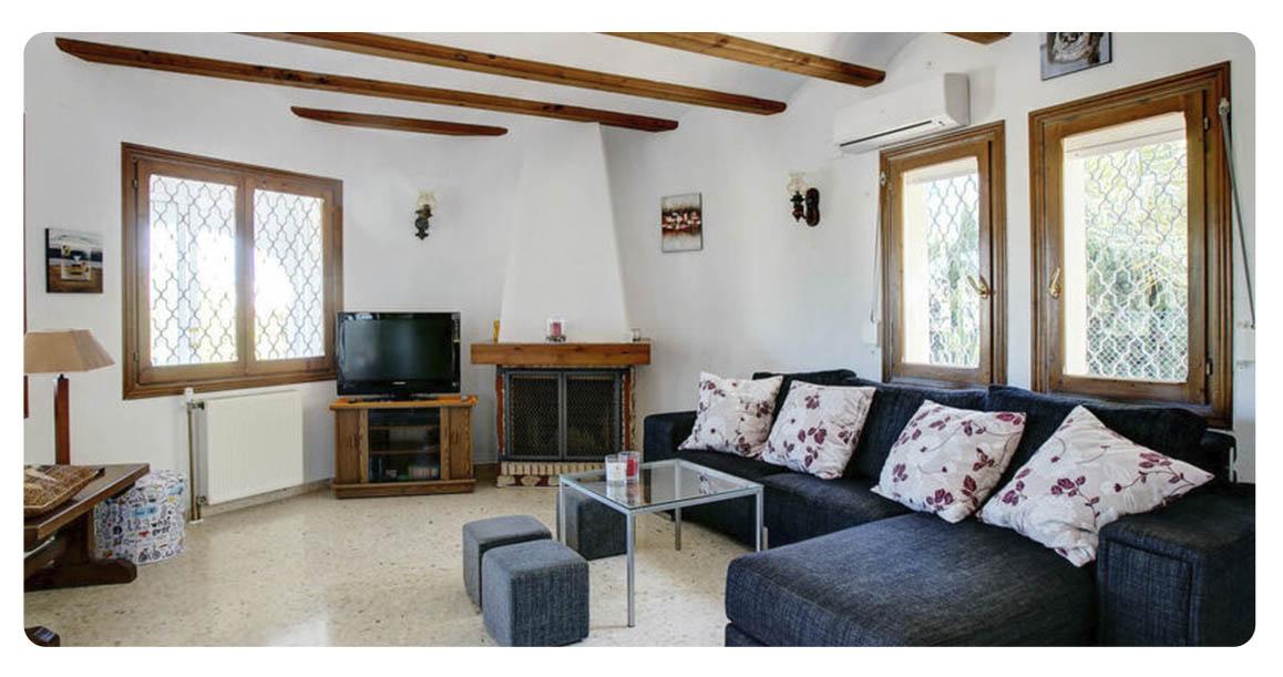 acheter maison villa denia salon