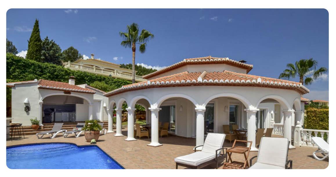 acheter villa denia exterieur