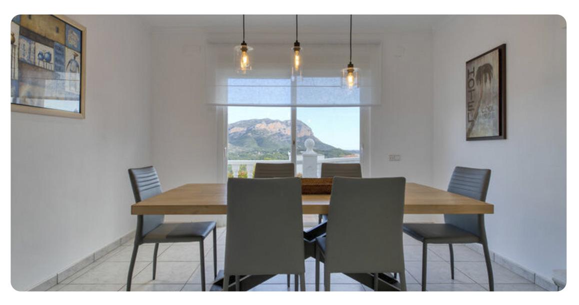 acheter villa denia salle a manger