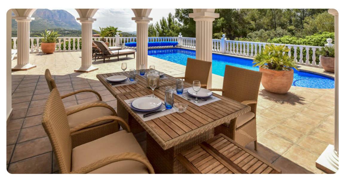 acheter villa denia terrasse