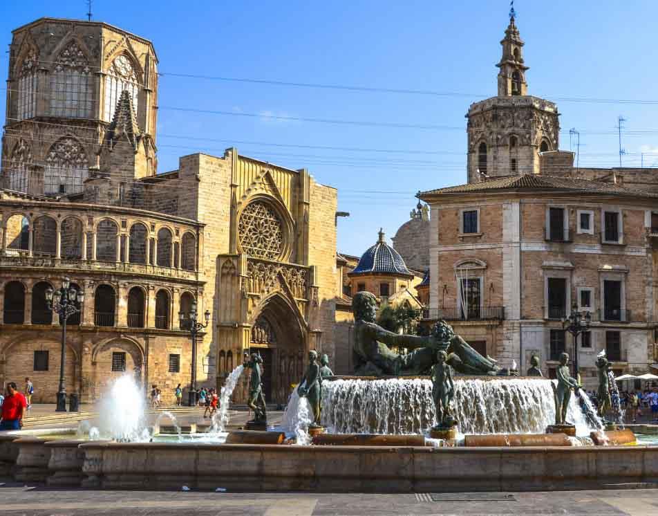 Centre historique valencia