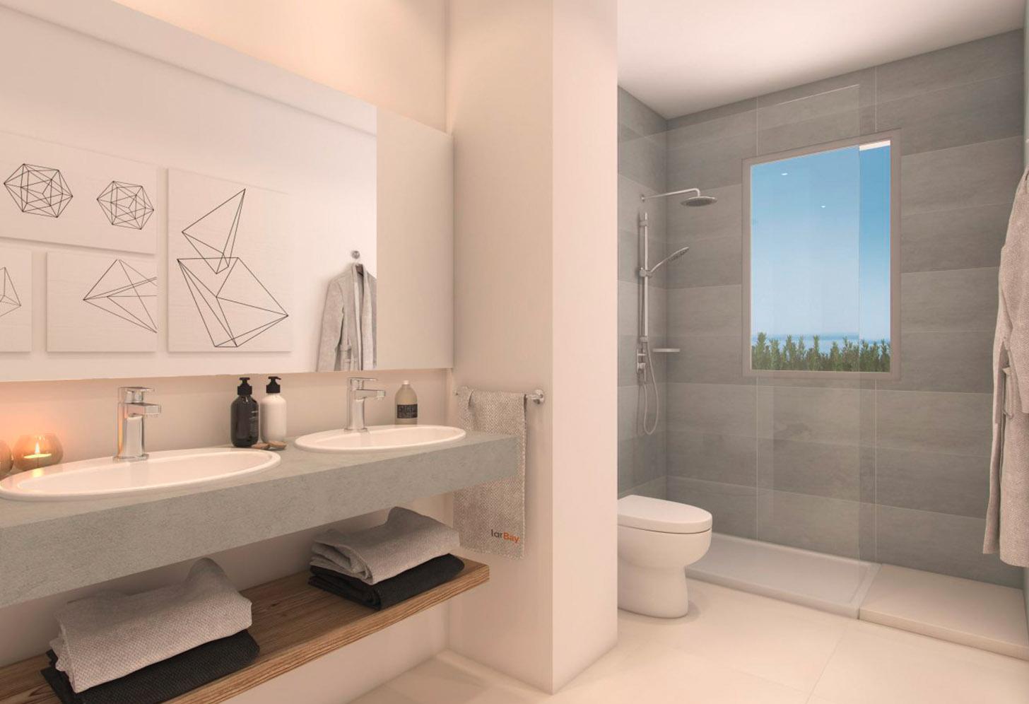 immobilier neuf espagne costa sol salle de bain