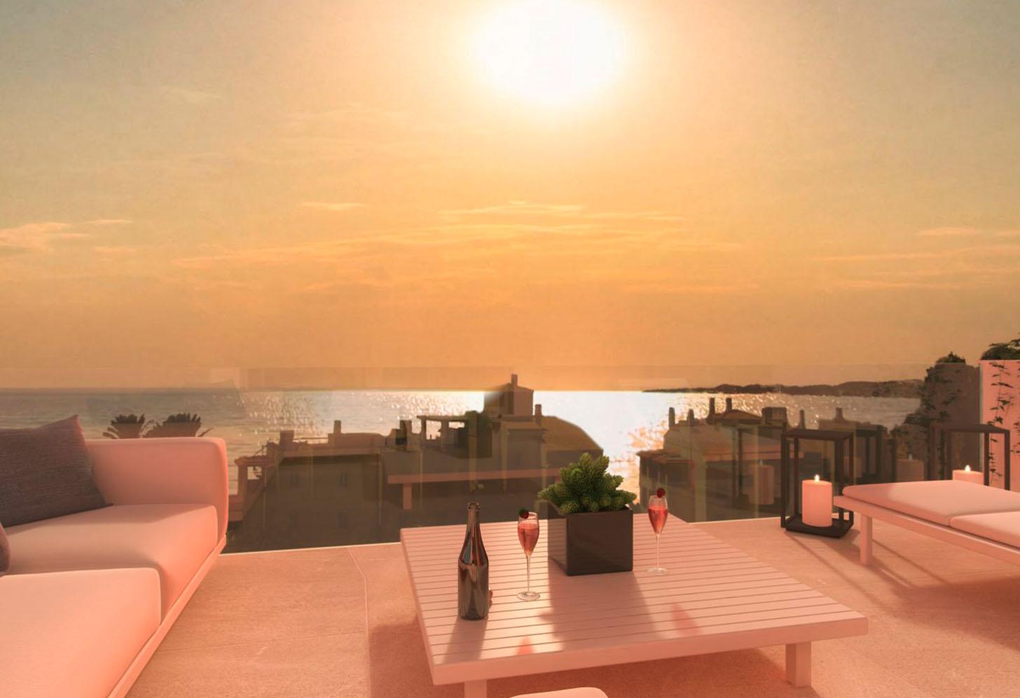 immobilier neuf espagne costa sol vue terrasse