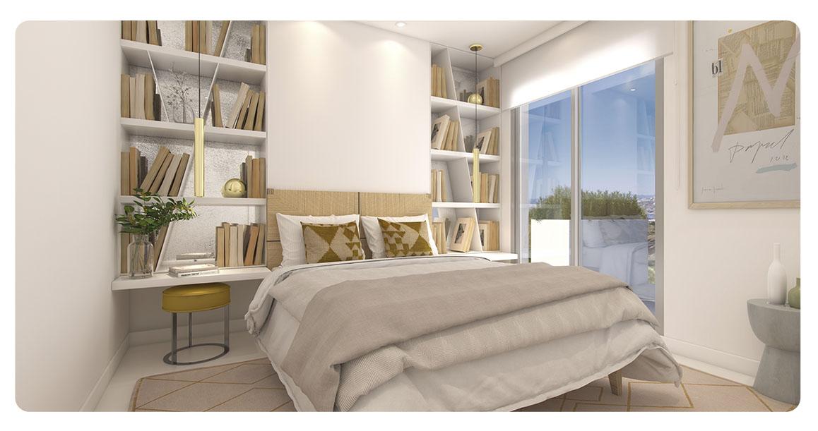 immobilier neuf espagne malaga benalmadena lar bay chambre 2