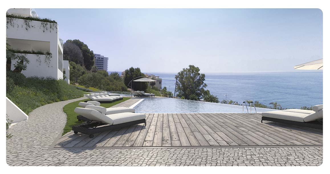 immobilier neuf espagne malaga benalmadena lar bay piscine