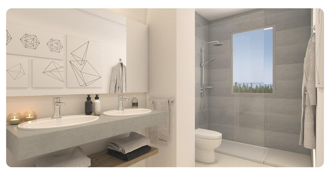 immobilier neuf espagne malaga benalmadena lar bay salle de bain