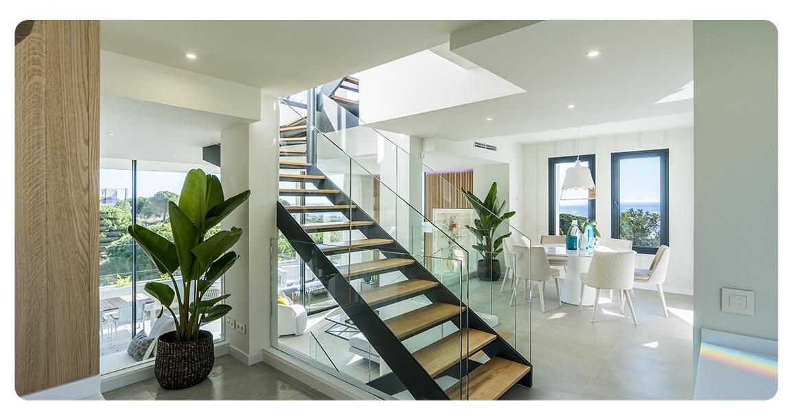 immobilier neuf espagne malaga cabopino cape escaliers