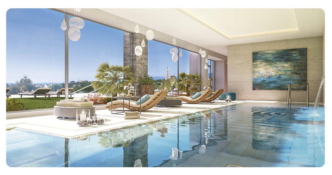 immobilier neuf espagne malaga cabopino piscine