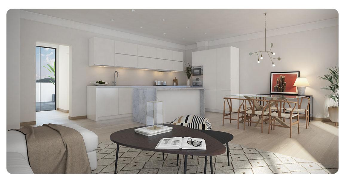 immobilier neuf espagne malaga mijas salon