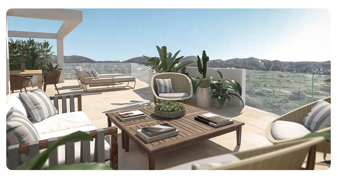 immobilier neuf espagne malaga mijas terrasse