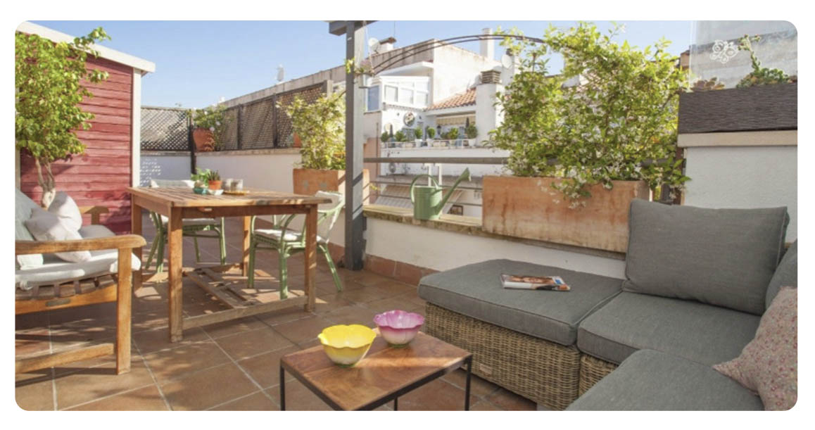 acheter appartement atico castelldefels terrasse 2