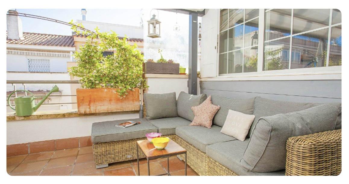 acheter appartement atico castelldefels terrasse