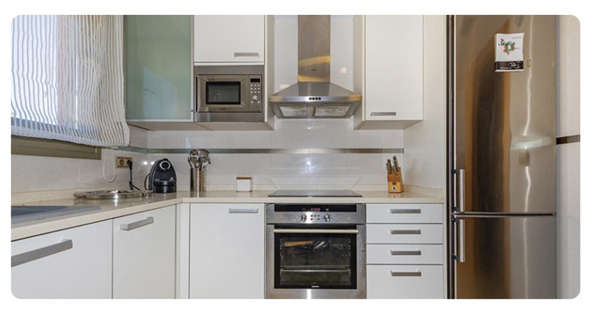 acheter appartement atico castellon oropesa cuisine