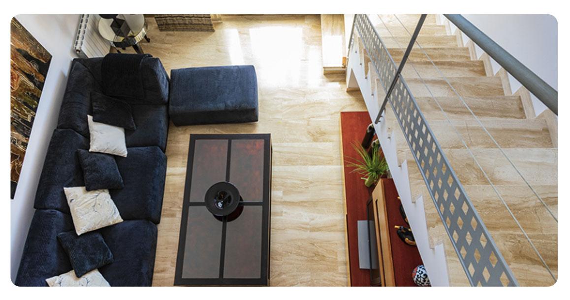 acheter appartement atico castellon oropesa escaliers