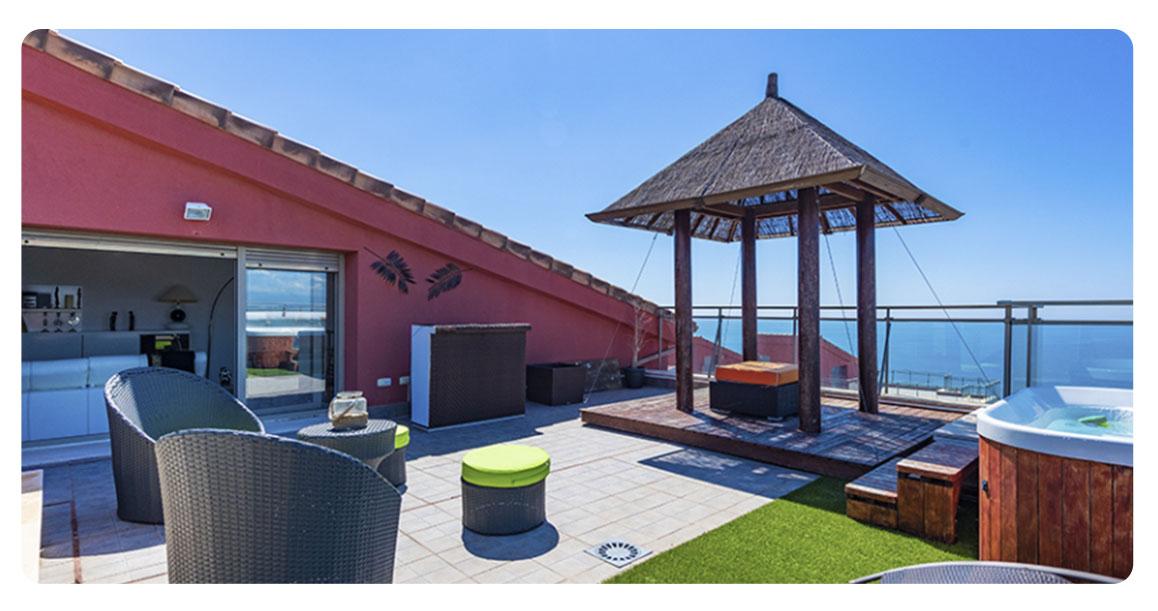acheter appartement atico castellon oropesa terrasse