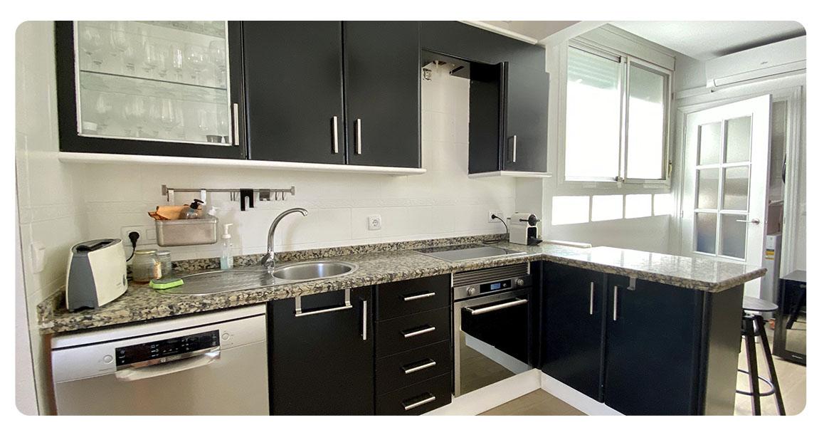 acheter appartement atico seville cuisine