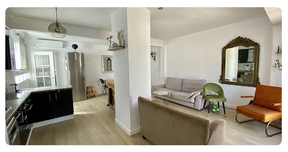 acheter appartement atico seville salle a manger