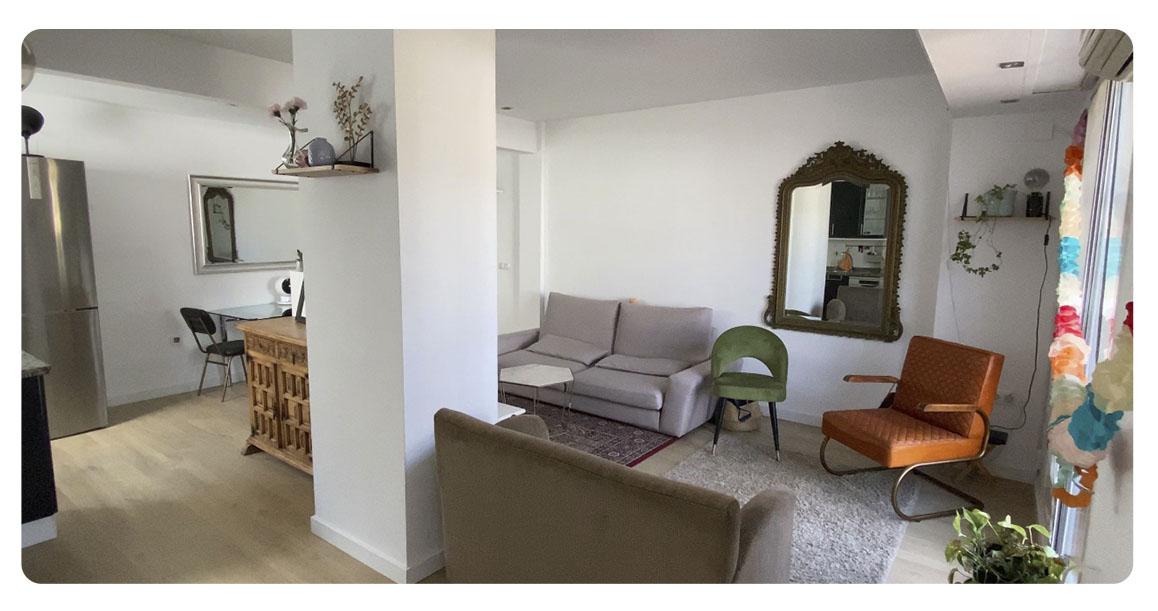 acheter appartement atico seville salon 2