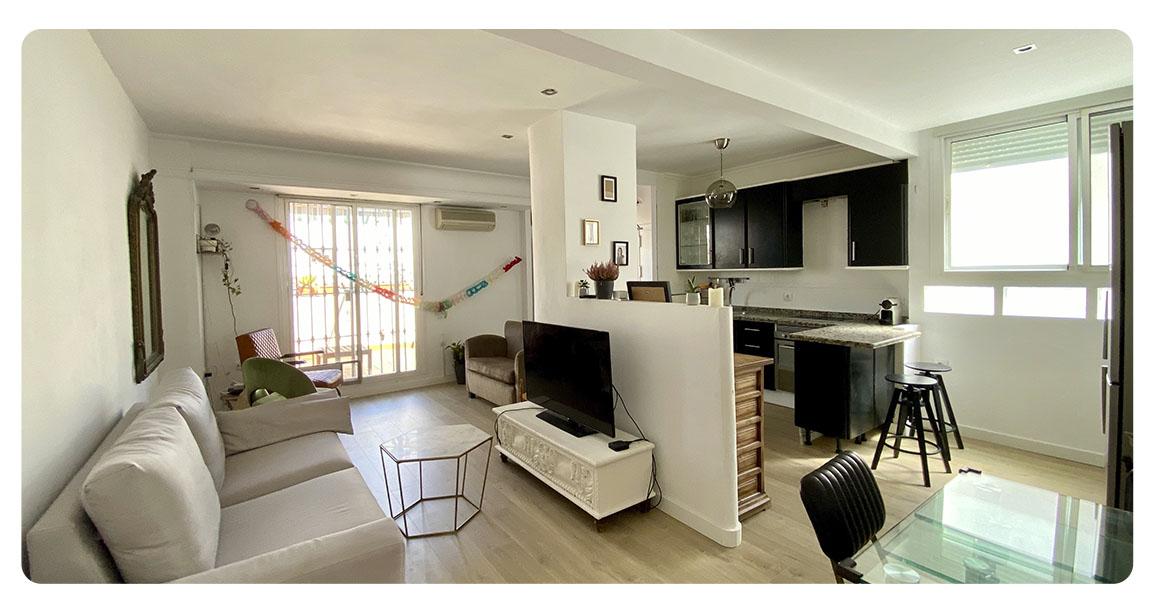 acheter appartement atico seville salon