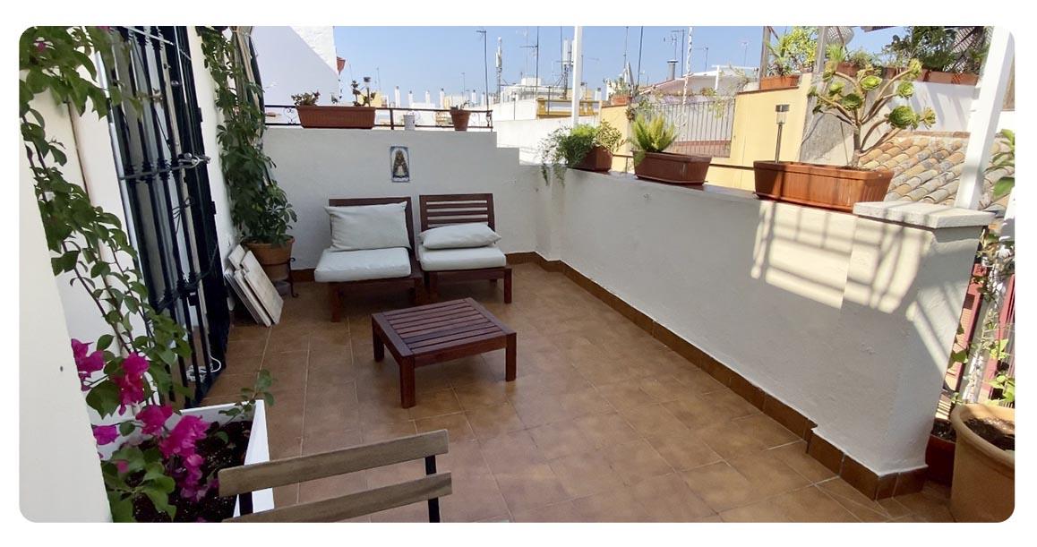 acheter appartement atico seville terrasse 2