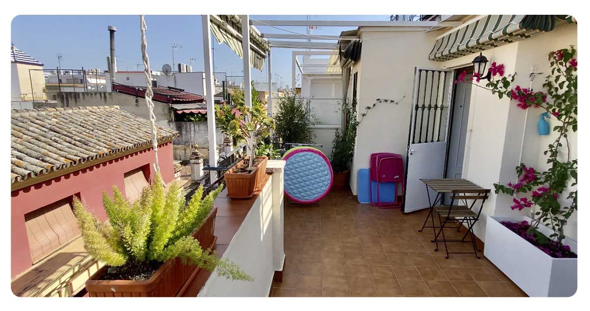 acheter appartement atico seville terrasse