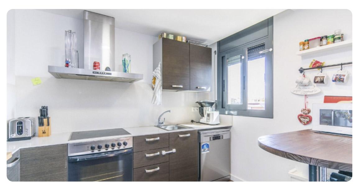 acheter appartement castelldefels cuisine