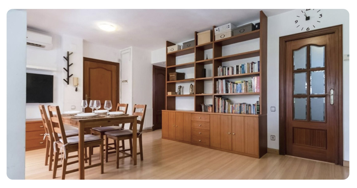 acheter appartement castelldefels la pineda salon