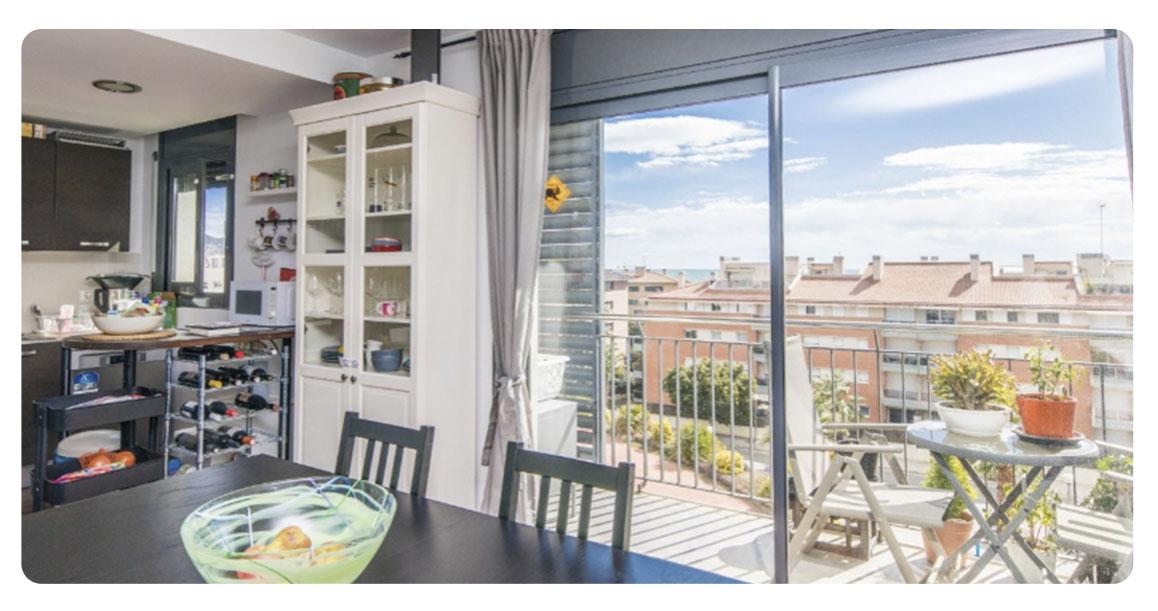 acheter appartement castelldefels salle a manger