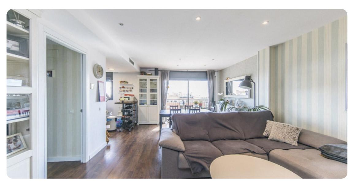 acheter appartement castelldefels salon