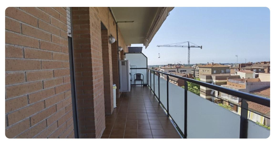 acheter appartement duplex castelldefels canyars balcon