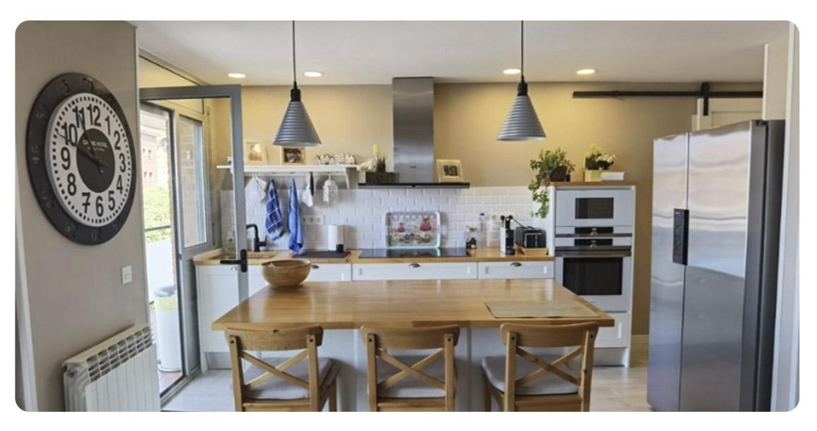acheter appartement duplex castelldefels canyars cuisine