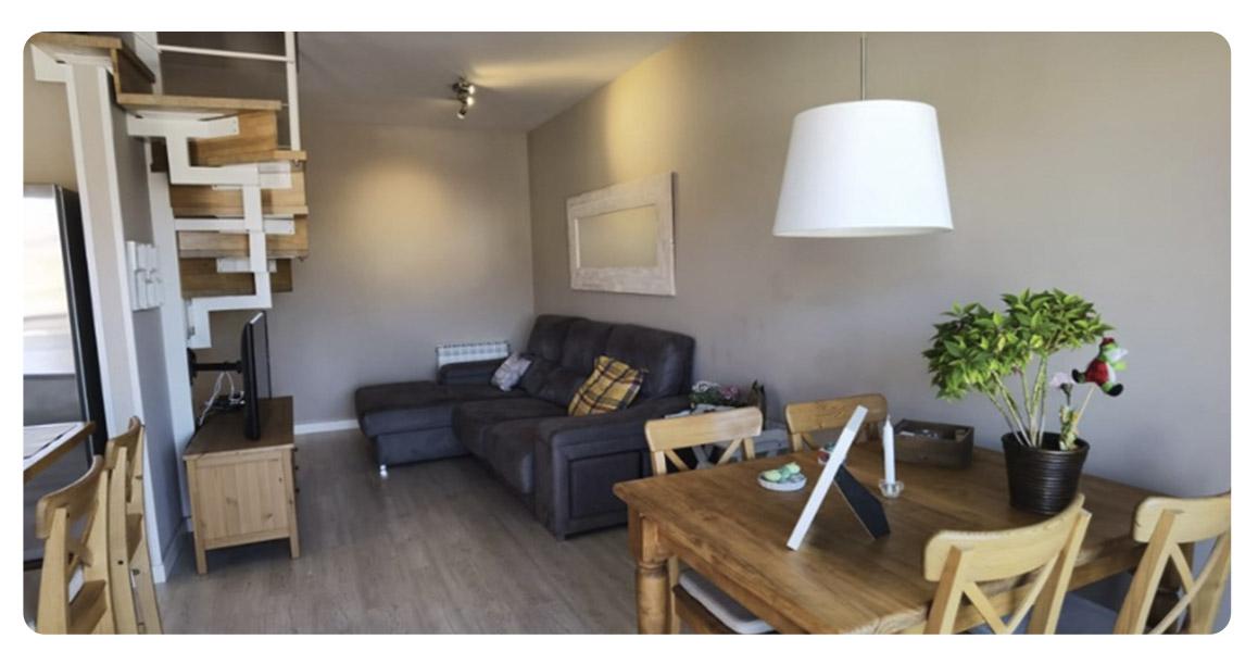 acheter appartement duplex castelldefels canyars salon