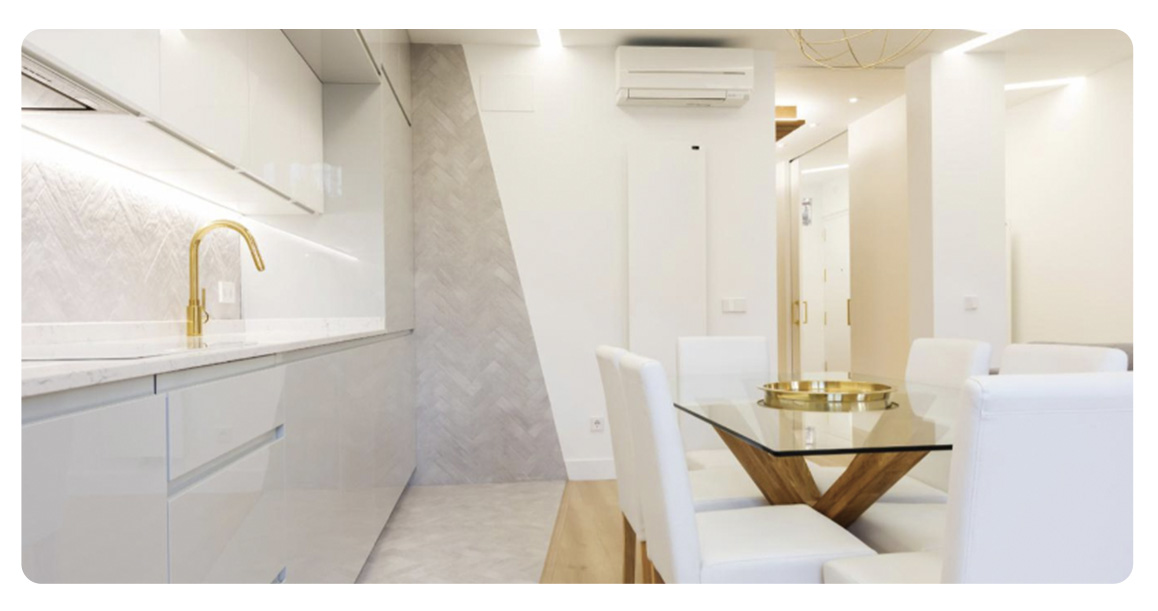acheter appartement madrid loft cuisine