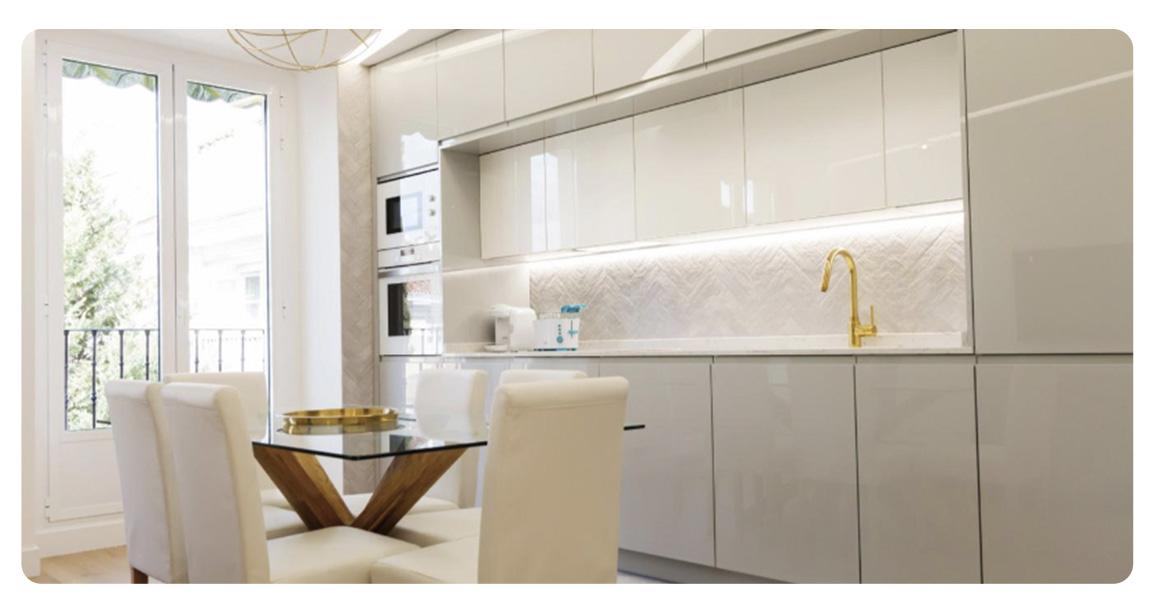 acheter appartement madrid loft salle a manger