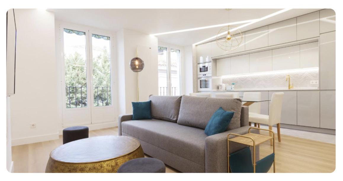 acheter appartement madrid loft salon 2