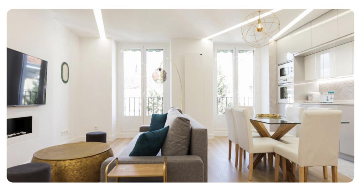 acheter appartement madrid loft salon