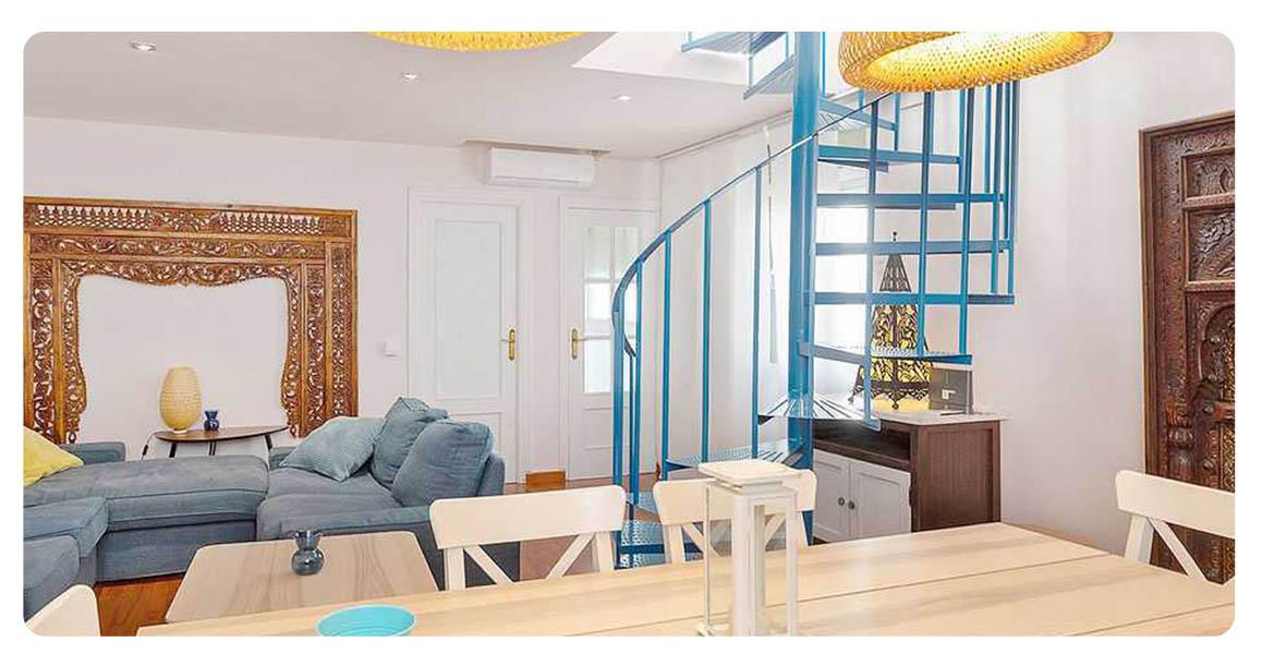 acheter appartement seville plaza san lorenzo escaliers 2