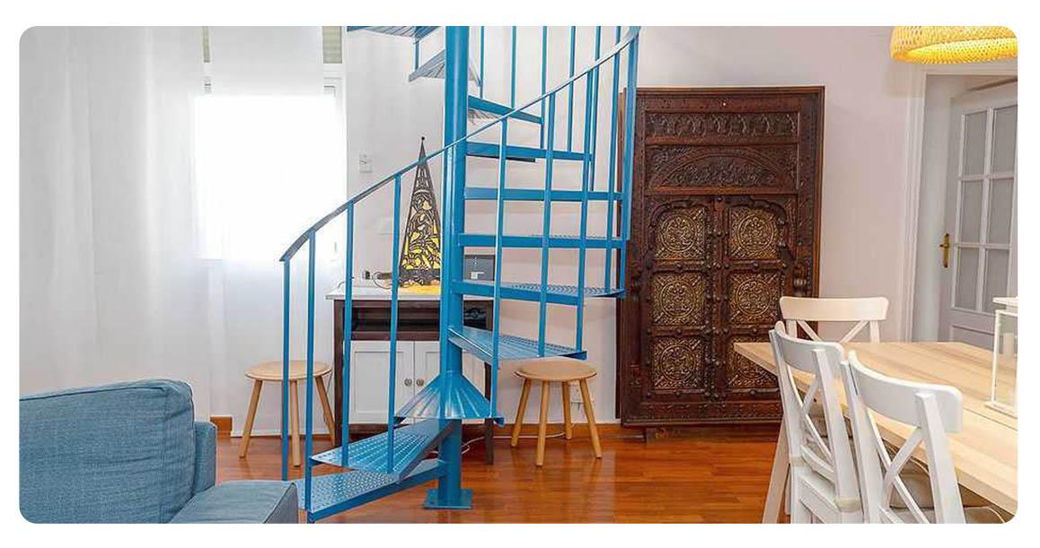 acheter appartement seville plaza san lorenzo escaliers