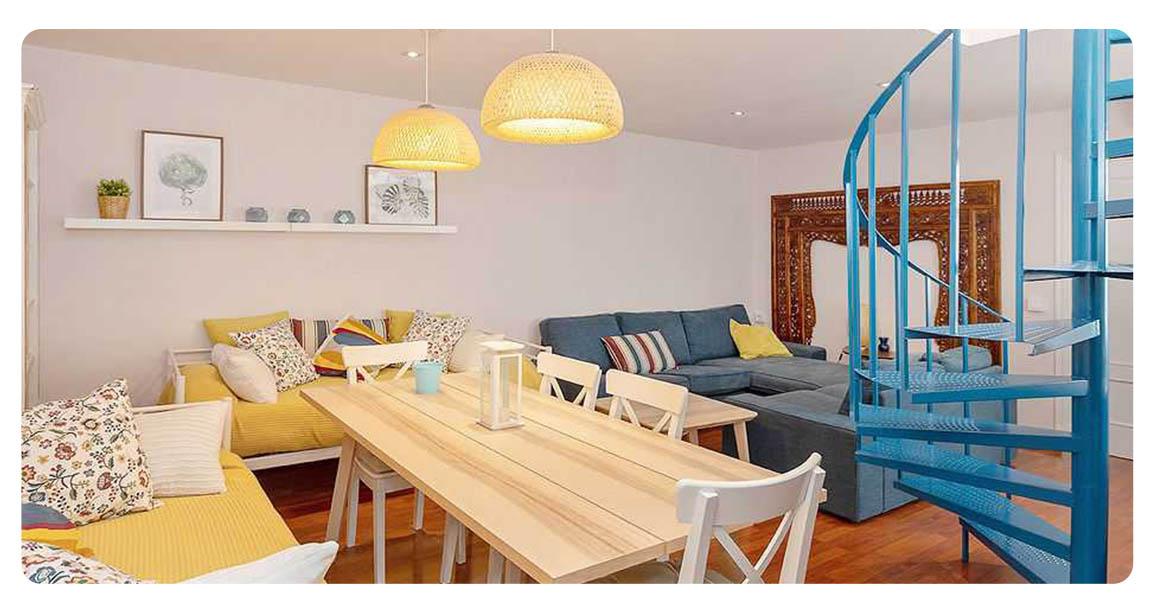 acheter appartement seville plaza san lorenzo salle a manger 2