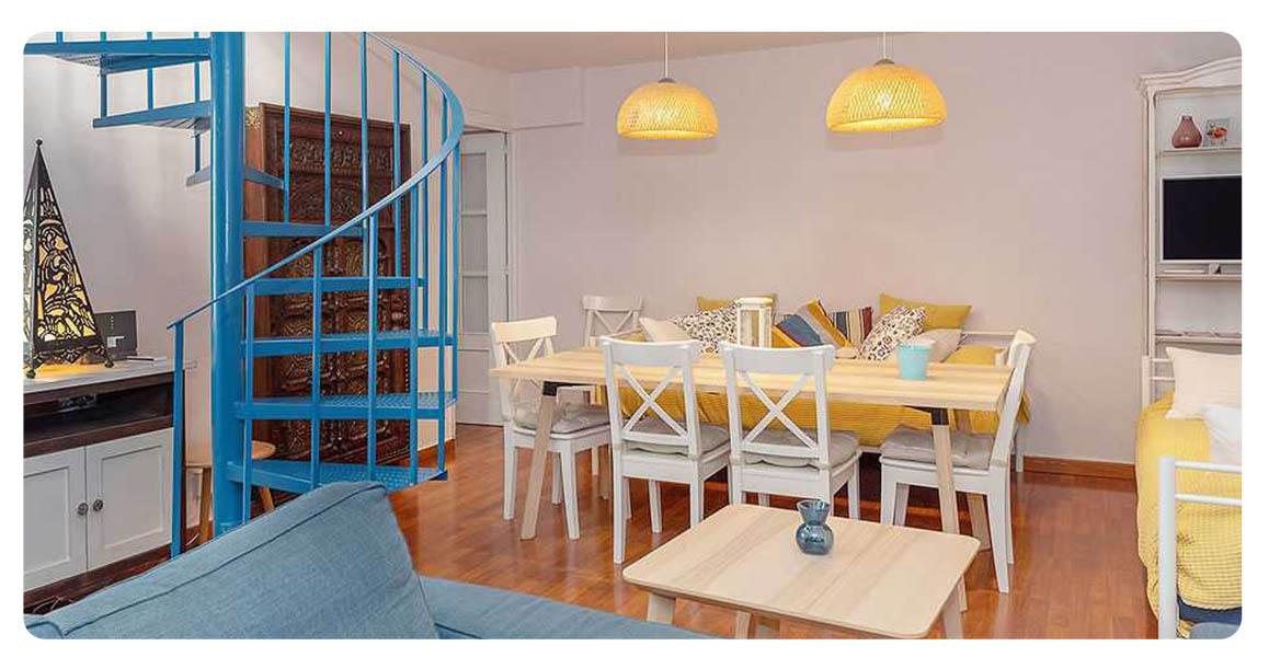 acheter appartement seville plaza san lorenzo salle a manger