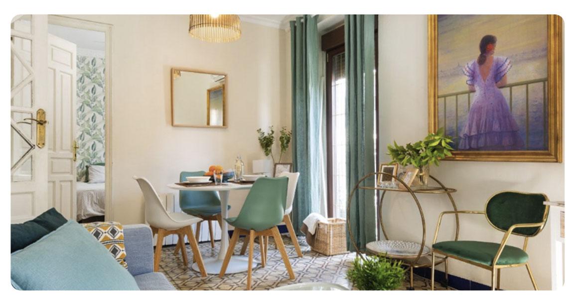 acheter appartement seville santa catalina salle a manger