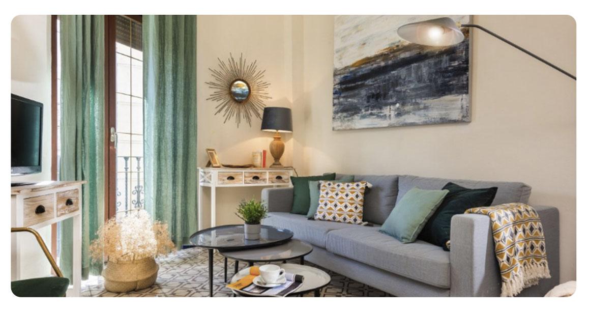 acheter appartement seville santa catalina salon 2