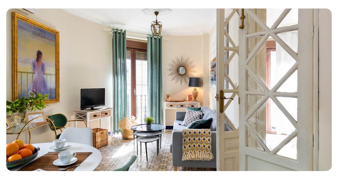 acheter appartement seville santa catalina salon