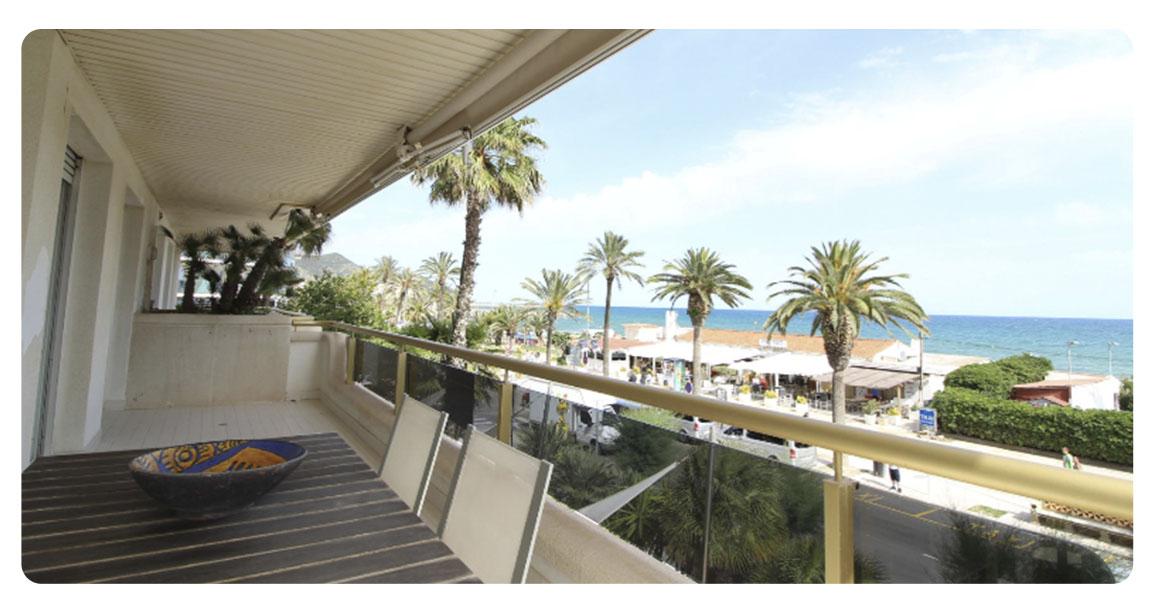 acheter appartement sitges terrasse vue