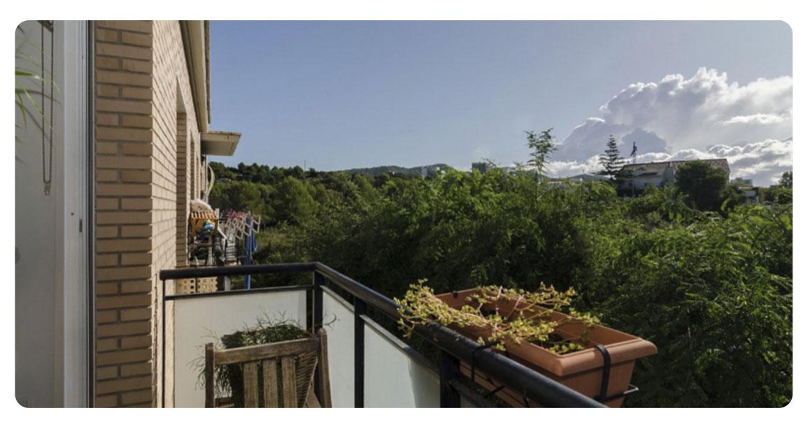 acheter appartement sitges vallpineda balcon