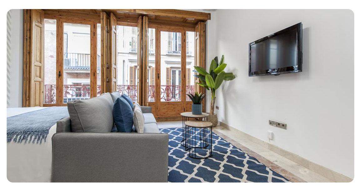 acheter appartement studio madrid plaza santa ana chambre