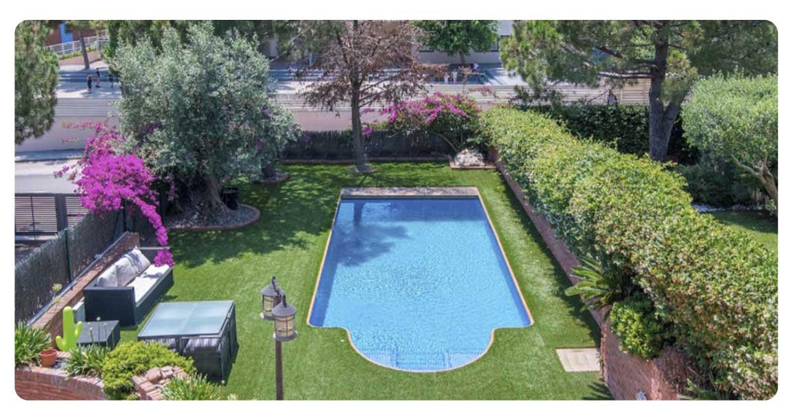 acheter maison castelldefels can roca piscine vue