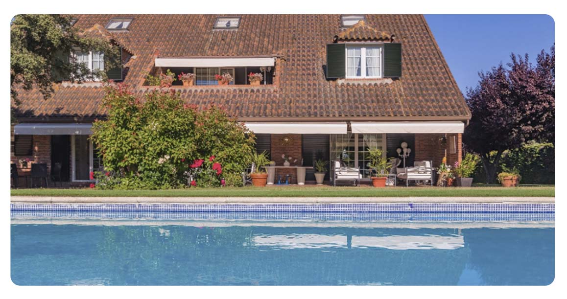 acheter maison madrid ciudalcampo piscine vue