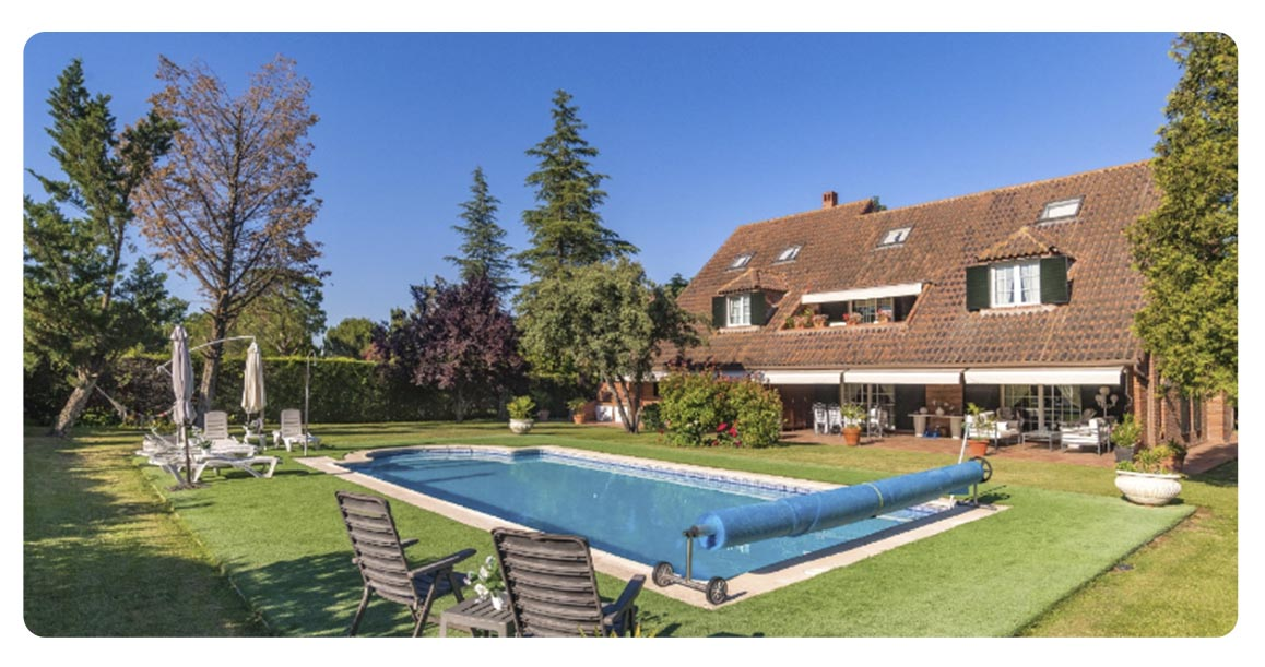 acheter maison madrid ciudalcampo piscine