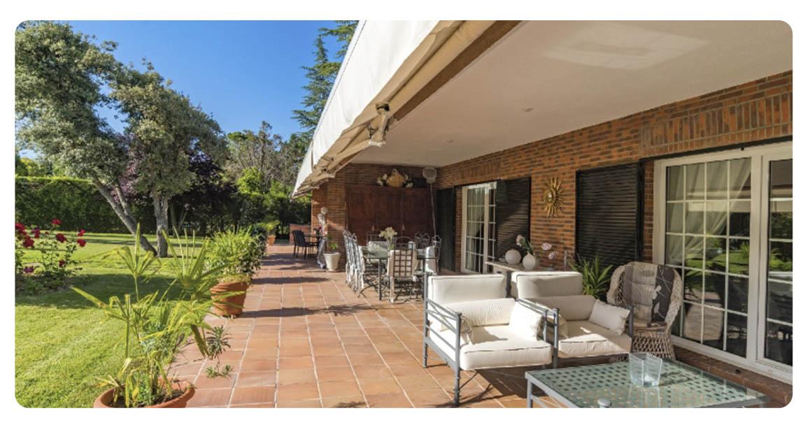 acheter maison madrid ciudalcampo terrasse